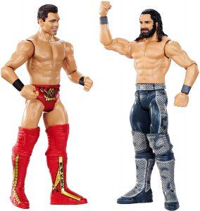 Figura de The Miz de Mattel y Seth Rollins - Muñecos de The Miz - Figuras coleccionables de luchadores de WWE