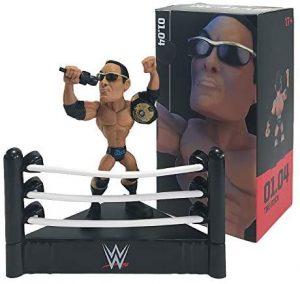 Figura de The Rock de Loot Crate - Muñecos de The Rock - Figuras coleccionables de luchadores de WWE
