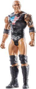Figura de The Rock de Mattel 3 - Muñecos de The Rock - Figuras coleccionables de luchadores de WWE