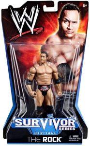 Figura de The Rock de Mattel Classic - Muñecos de The Rock - Figuras coleccionables de luchadores de WWE