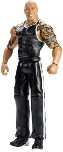Figura de The Rock de Mattel clásico - Muñecos de The Rock - Figuras coleccionables de luchadores de WWE