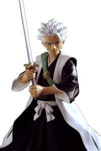 Figura de Toshiro de Bleach de Toynami - Muñecos de Bleach - Figuras coleccionables del anime de Bleach