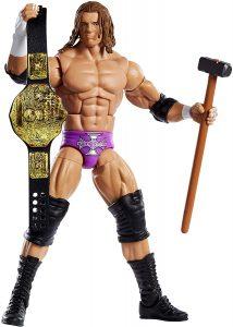 Figura de Triple H de Mattel 2 - Muñecos de HHH - Figuras coleccionables de luchadores de WWE