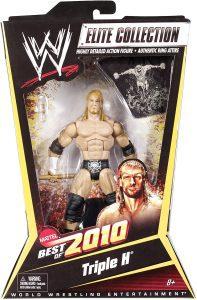 Figura de Triple H de Mattel 3 - Muñecos de HHH - Figuras coleccionables de luchadores de WWE
