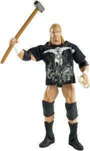 Figura de Triple H de Mattel 8 - Muñecos de HHH - Figuras coleccionables de luchadores de WWE