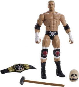 Figura de Triple H de Mattel 9 - Muñecos de HHH - Figuras coleccionables de luchadores de WWE