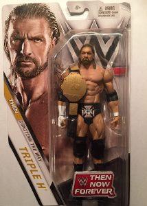 Figura de Triple H de Mattel Elite - Muñecos de HHH - Figuras coleccionables de luchadores de WWE