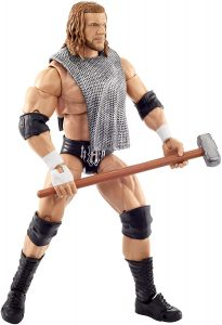 Figura de Triple H de Mattel - Muñecos de HHH - Figuras coleccionables de luchadores de WWE