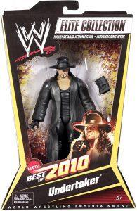 Figura de Undertaker de Mattel Elite - Muñecos del Enterrador - Figuras coleccionables de luchadores de WWE