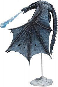 Figura de Viserion de Hielo de Juego de Tronos de McFarlane Toys - Muñecos de Juego de tronos de Viserion - Figuras coleccionables de los Dragones de Juego de Tronos