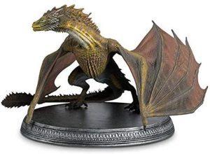 Figura de Viserion de Juego de Tronos de HBO - Muñecos de Juego de tronos de Viserion - Figuras coleccionables de los Dragones de Juego de Tronos
