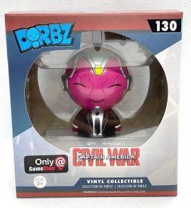 Figura de Vision de Dorbz - Figuras coleccionables de Visión - Muñecos de Visión de Marvel