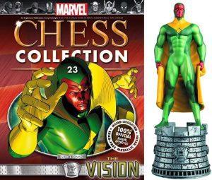 Figura de Vision de Eaglemoss Marvel Chess - Figuras coleccionables de Visión - Muñecos de Visión de Marvel