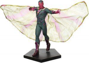 Figura de Vision de Iron Studios de Civil War - Figuras coleccionables de Visión - Muñecos de Visión de Marvel