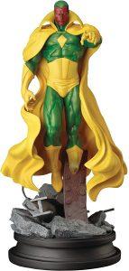 Figura de Vision de Kotobukiya 2 - Figuras coleccionables de Visión - Muñecos de Visión de Marvel