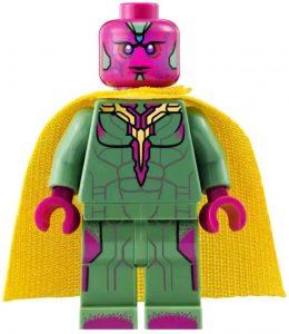 Figura de Vision de Lego - Figuras coleccionables de Visión - Muñecos de Visión de Marvel