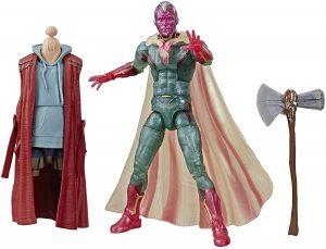 Figura de Vision de Marvel Avengers Legends - Figuras coleccionables de Visión - Muñecos de Visión de Marvel