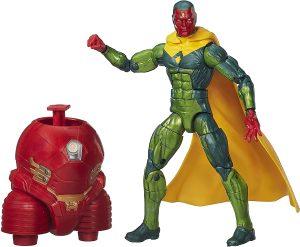Figura de Vision de Marvel Legends Infinite Series - Figuras coleccionables de Visión - Muñecos de Visión de Marvel
