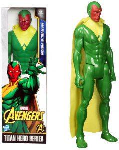 Figura de Vision de Titan Hero Series - Figuras coleccionables de Visión - Muñecos de Visión de Marvel