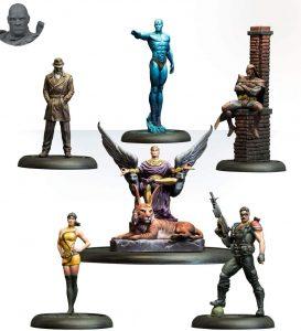 Figura de Watchmen de Knight Models - Figuras coleccionables de Watchmen - Muñecos de Watchmen