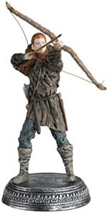 Figura de Ygritte de Juego de Tronos de Eaglemoss - Muñecos de Juego de tronos de Ygritte - Figuras coleccionables de Ygritte de Game of Thrones