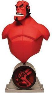 Figura de busto de Hellboy de Dark Horse Comics - Muñecos de Hellboy - Figuras coleccionables de Hellboy