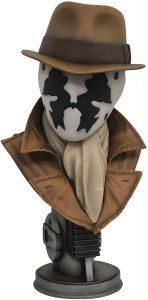 Figura de busto de Rorshach de Watchmen de Diamond Select - Figuras coleccionables de Watchmen - Muñecos de Watchmen