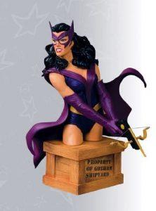 Figura de la Cazadora - Huntress de DC Universe - Figuras coleccionables de The Huntress - Muñecos de la Cazadora
