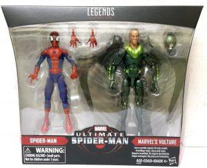 Figura del Buitre y Spiderman de Marvel Legends Ultimate - Figuras coleccionables del Buitre - Vulture - Muñecos del Buitre