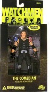 Figura del Comediante Flashback de Watchmen - Figuras coleccionables de Watchmen - Muñecos de Watchmen