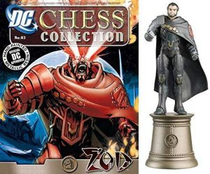 Figura del General Zod de DC Chess Collection - Figuras coleccionables del General Zod - Muñecos del General Zod