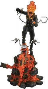 Figura del Motorista Fantasma de Diamond Select - Figuras coleccionables del Motorista Fantasma - Muñecos de Ghost Rider