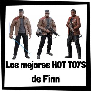 Figuras Hot Toys de Finn - Hot Toys de figuras de colección de Finn de Star Wars