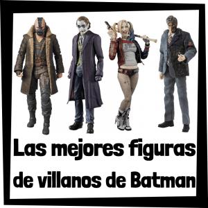 Figuras de acción y muñecos de villanos de Batman de DC