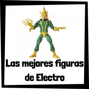 Figuras de colección de Electro - Las mejores figuras de colección de villanos de Spiderman