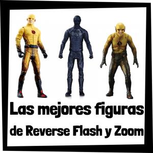 Figuras de colección de Reverse Flash y Zoom de villanos de Flash - Las mejores figuras de colección de Reverse Flash y de Zoom