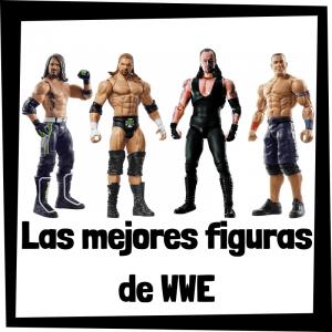 Figuras de acción y muñecos de luchadores de WWE