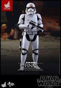 Hot Toys de Finn Stormtrooper - Los mejores Hot Toys de Finn - Figuras coleccionables de Finn de Star Wars