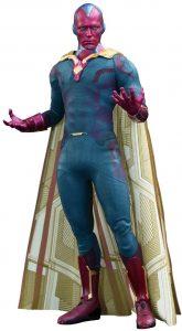 Hot Toys de Vision de Marvel de Vengadores la Era de Ultron - Figuras Hot Toys coleccionables de Visión - Muñecos de Visión de Marvel