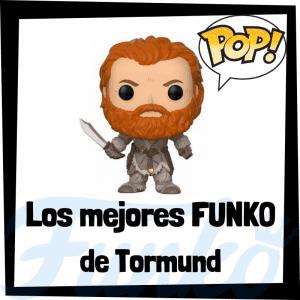Los mejores FUNKO POP de Tormund de Juego de Tronos - Funko POP de la serie de Juego de Tronos
