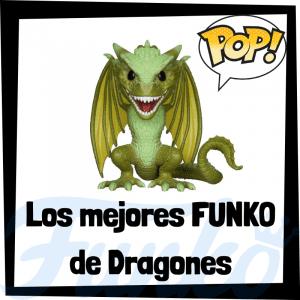 Los mejores FUNKO POP de los Dragones de Juego de Tronos - Funko POP de la serie de Juego de Tronos de Rhaegal, Viserion y Drogon
