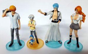 Pack de Figuras de Bleach - Muñecos de Bleach - Figuras coleccionables del anime de Bleach