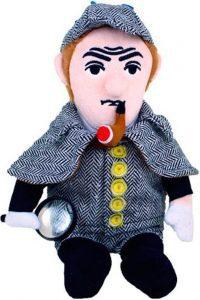Peluche de Sherlock - Muñecos de Sherlock - Figuras coleccionables de Sherlock Holmes