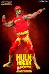 Sideshow Figura de Hulk Hogan de Storm Collectibles - Muñecos de Hulk Hogan - Figuras coleccionables de luchadores de WWE
