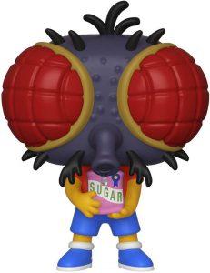 Figura FUNKO POP de Bart Simpson Mosca de los Simpsons - Muñecos de Bart Simpson los Simpsons