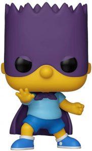 Figura FUNKO POP de Bartman de los Simpsons - Muñecos de Bart Simpson los Simpsons