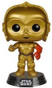 Figura FUNKO POP de C-3PO brazo rojo - Figuras de acción y muñecos de C-3PO