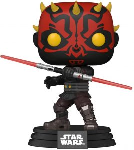 Figura FUNKO POP de Darth Maul - Figuras de acción y muñecos de Darth Maul