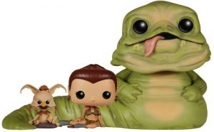 Figura FUNKO POP de Jabba el Hutt, Leia y Salacious - Figuras de acción y muñecos de Jabba el Hutt