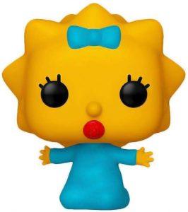Figura FUNKO POP de Maggie Simpson de los Simpsons - Muñecos de Maggie Simpson los Simpsons